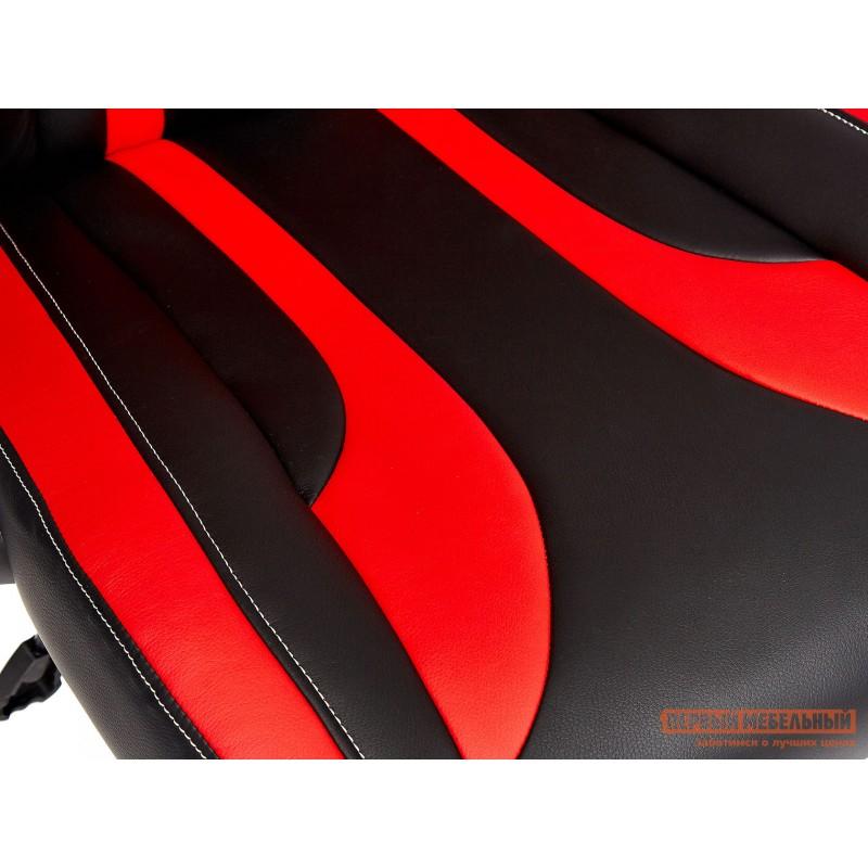 Игровое кресло  Rocket Иск. кожа черная / красная (фото 9)