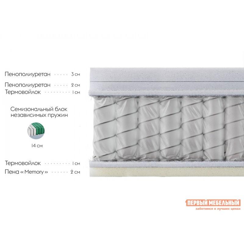 Пружинный матрас  Матрас Орлеан S 26 memory Белый, 120х200 см (фото 2)