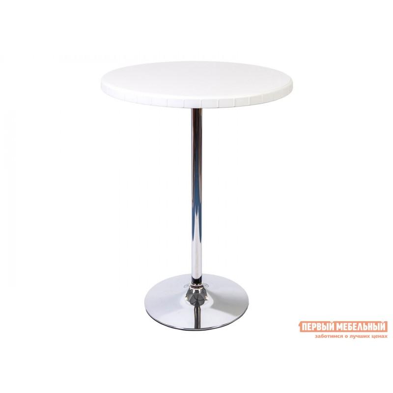 Барный стол  Стол барный разборный 80/110 Белый / Хром