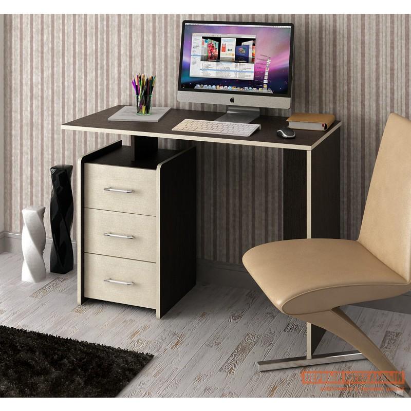 Письменный стол  Слим Венге / Дуб Молочный, 1030 мм (фото 2)