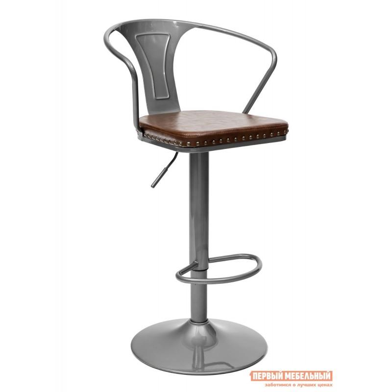 Барный стул  TOLIX ARMS SOFT F2535L Серебристый