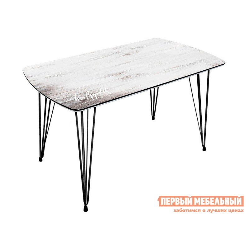 Кухонный стол  Стол обеденный Фиеста 2 Дуб винтаж