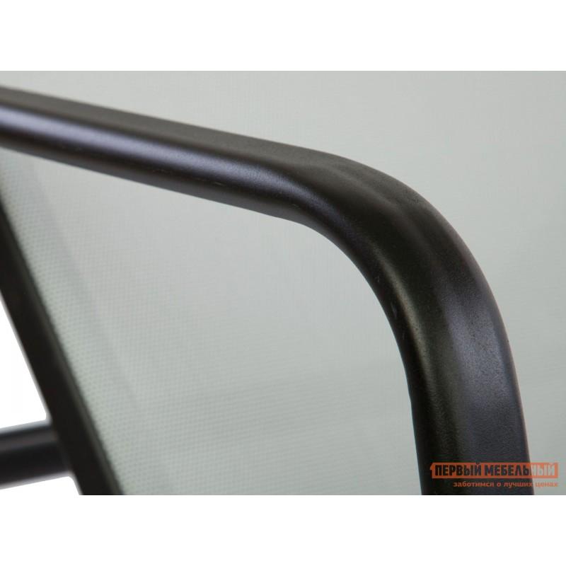 Шезлонг  NEAPOL Черный, металл / Серый, текстилен (фото 4)