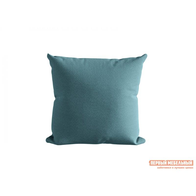 Декоративная подушка  Подушка ШН(391-8), Размер 45х45 Бирюза, рогожка