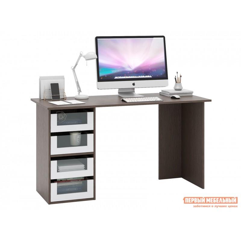 Письменный стол  Прайм-56 Венге / Белый