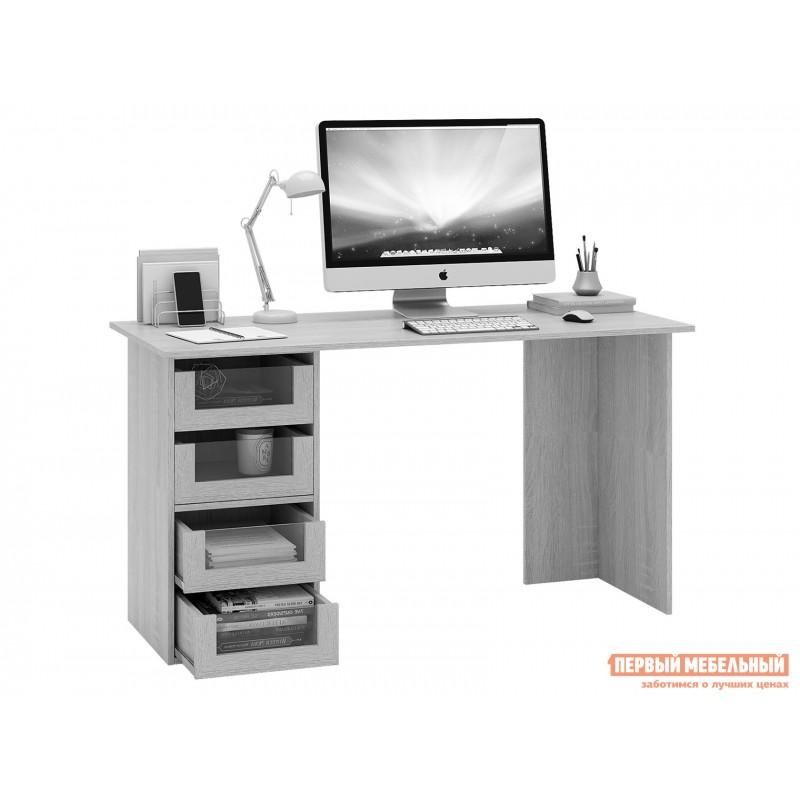 Письменный стол  Прайм-56 Венге / Белый (фото 2)