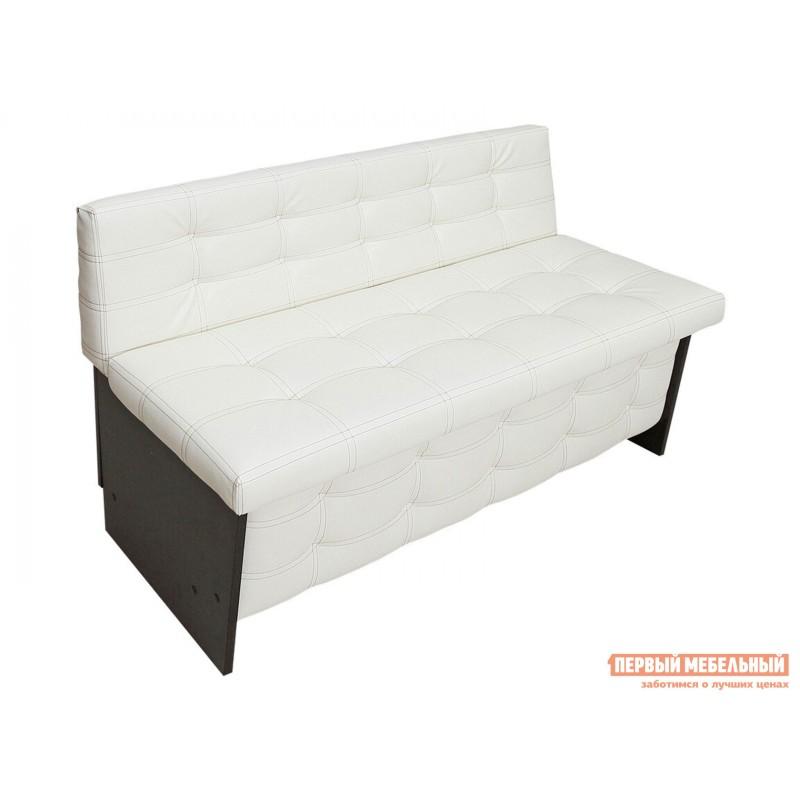 Кухонный диван  Кухонный диван Милан Венге / Крем (Экокожа), 900 мм