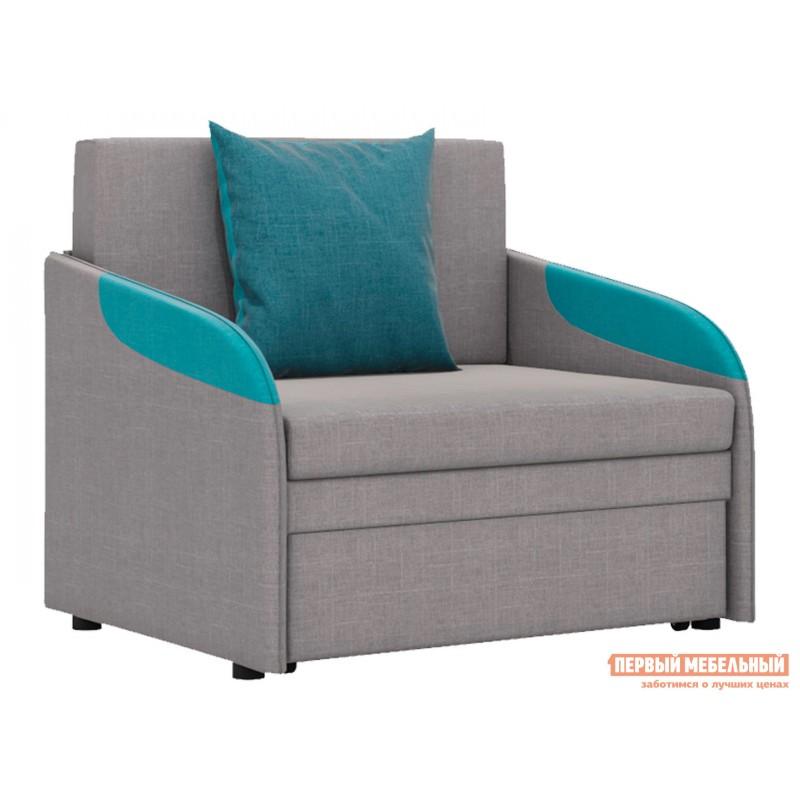Кресло  Кресло-кровать Громит Серый, велюр
