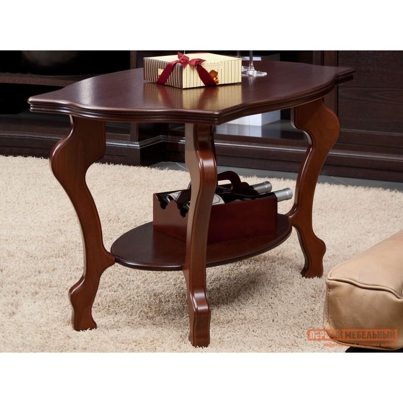 Журнальный столик  Берже-1 Средне-коричневый (фото 2)