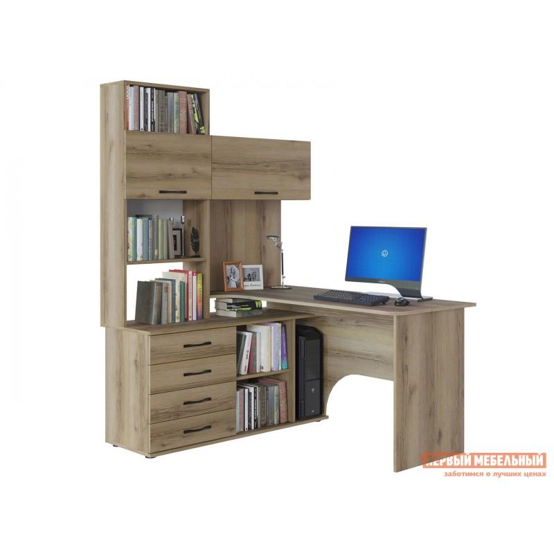 Компьютерный стол  КСТ-14 Дуб Делано, Левый