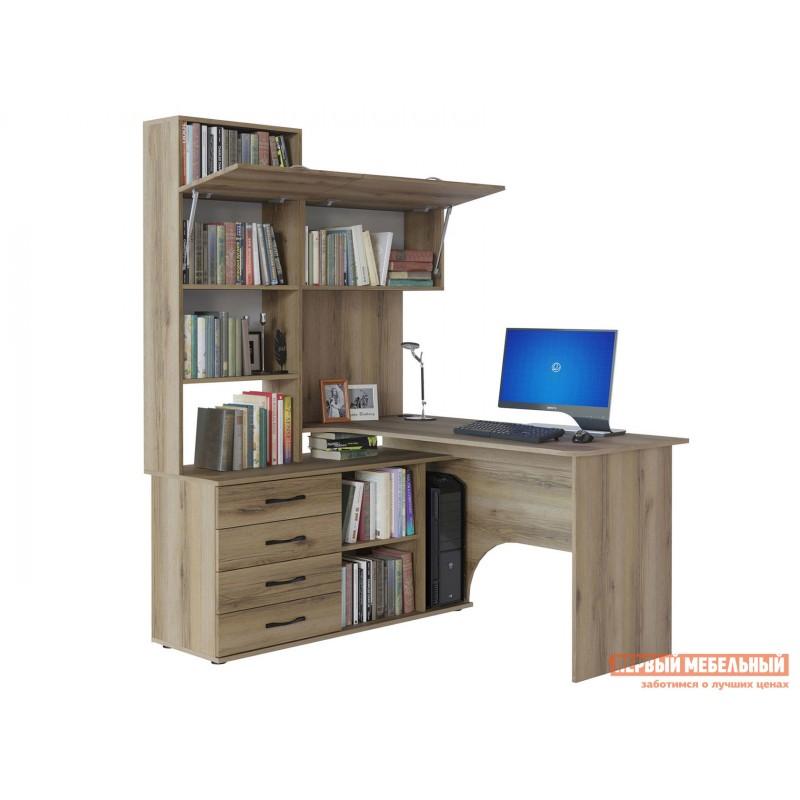 Компьютерный стол  КСТ-14 Дуб Делано, Левый (фото 2)