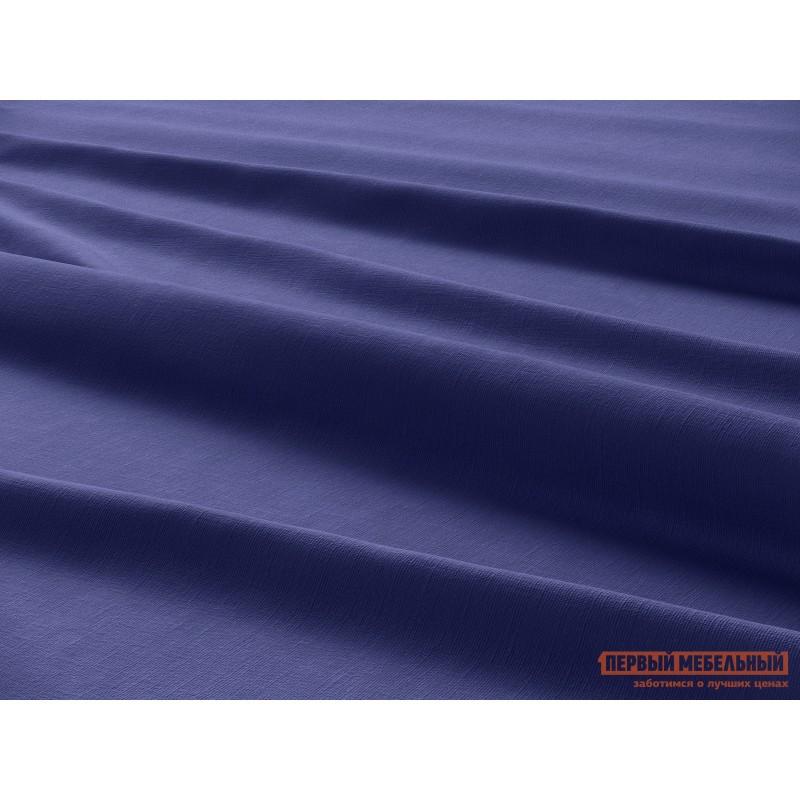 Комплект постельного белья  КПБ сатин однотонный (синий ОСНОВА СНОВ) Синий, сатин, Двуспальный (фото 4)