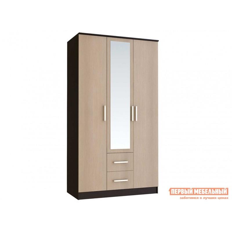 Распашной шкаф  Фиеста Ш3 Венге / Лоредо