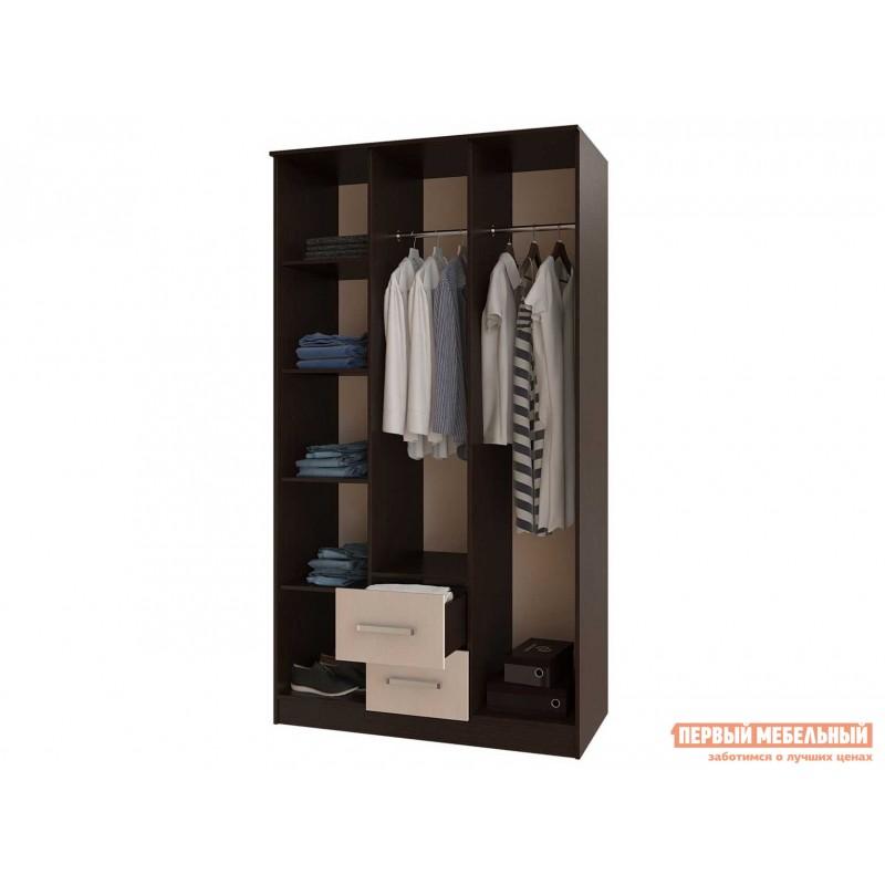 Распашной шкаф  Фиеста Ш3 Венге / Лоредо (фото 2)