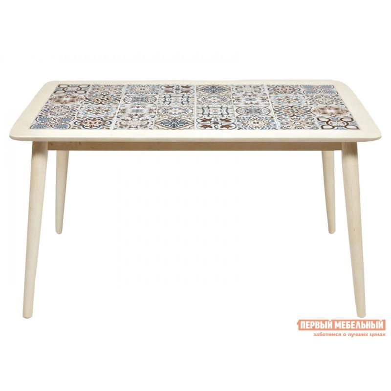 Кухонный стол  Стол Tanger СТ 3052 Античный белый / Плитка марокко (фото 2)