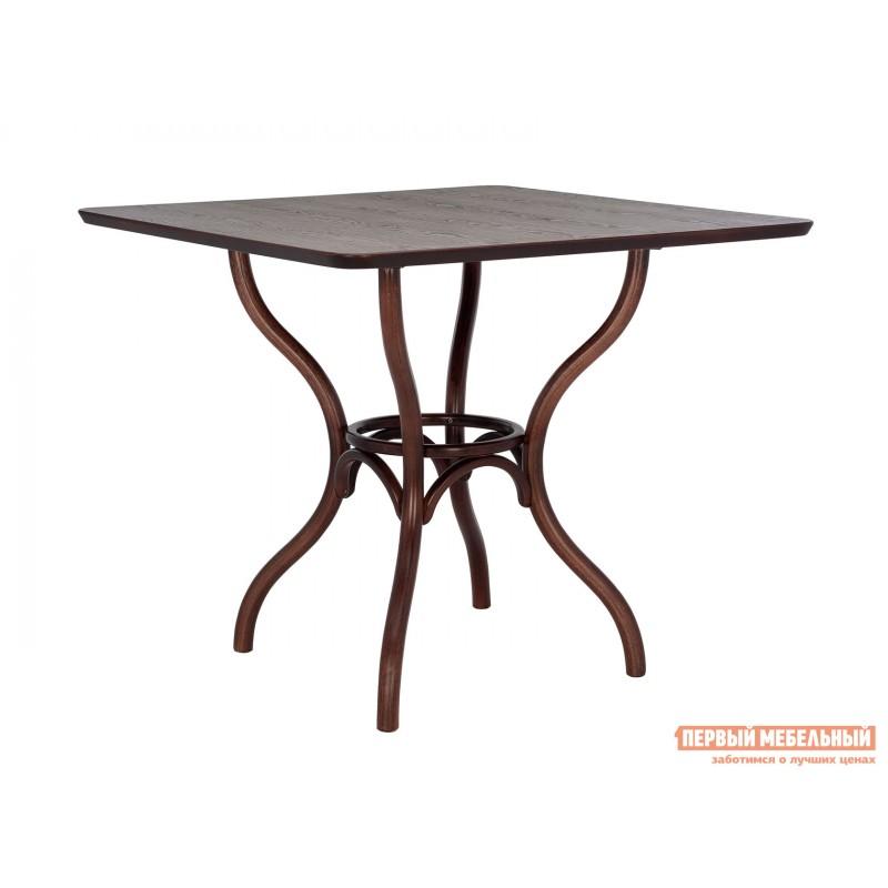 Кухонный стол  Стол Leset Тор квадратный Темный орех