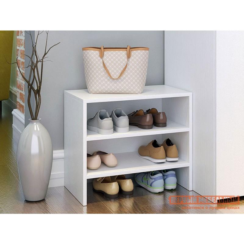 Обувница  Уно-52/53 Белый, Малая (фото 7)