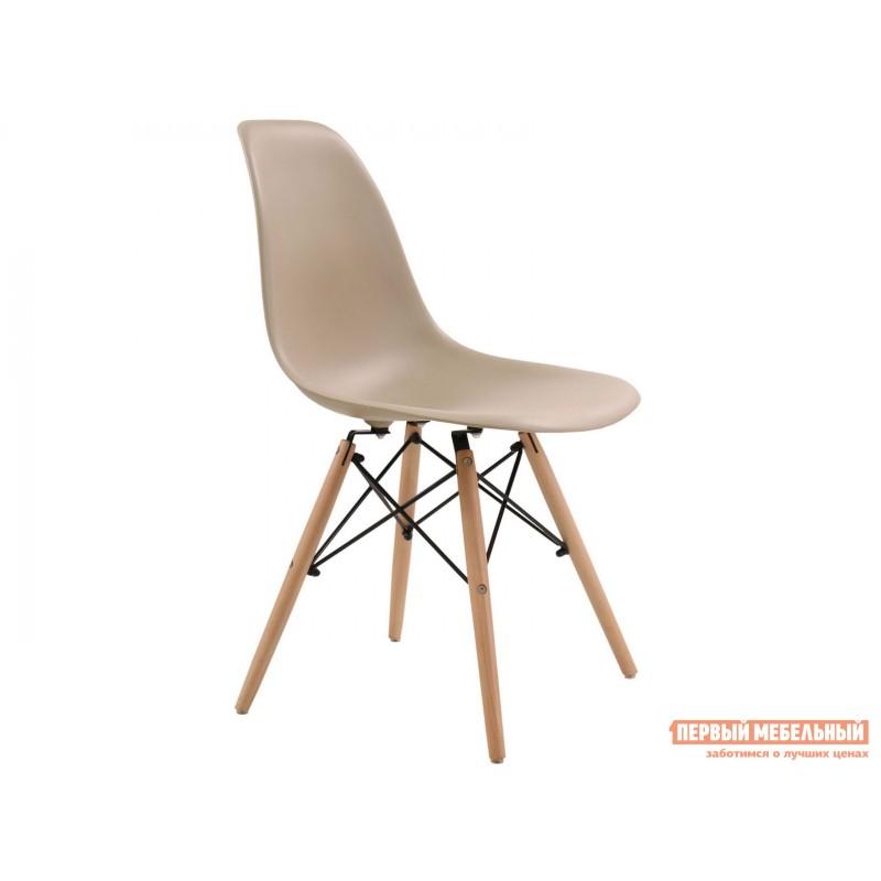 Стул  Eames Wood Бежево-серый, 1 стул