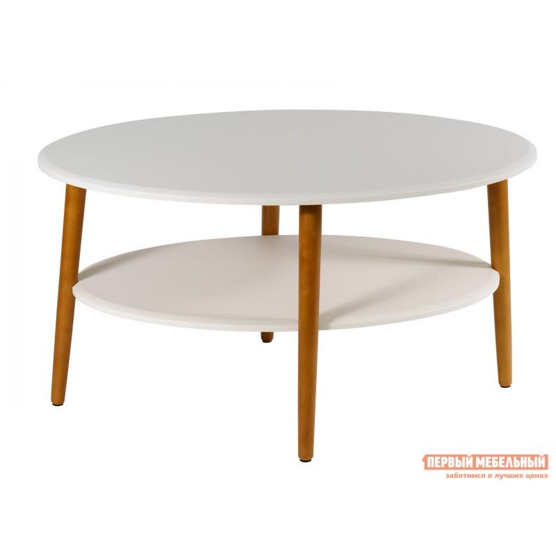 Журнальный столик  Стол журнальный Эль СЖ-01 Белый (фото 2)