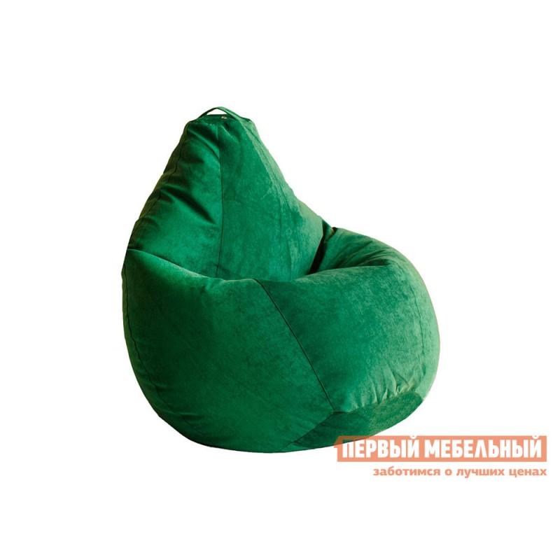 Кресло-мешок  Кресло-мешок Микровельвет Зеленый микровельвет, 2XL