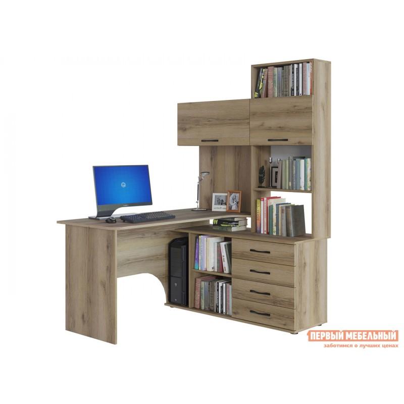 Компьютерный стол  КСТ-14 Дуб Делано, Правый