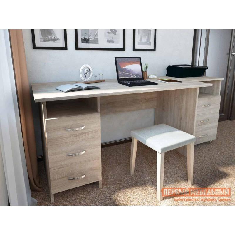 Письменный стол  Прато Дуб Сонома (фото 2)
