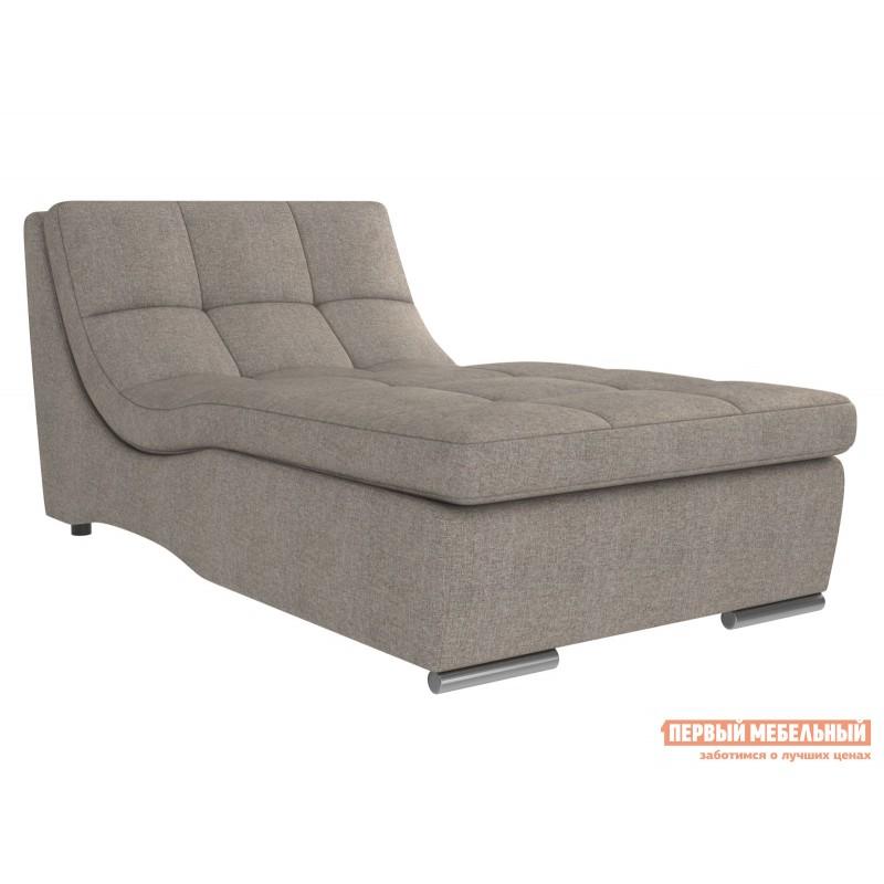 Прямой диван  Сан-Диего Серо-бежевый, рогожка