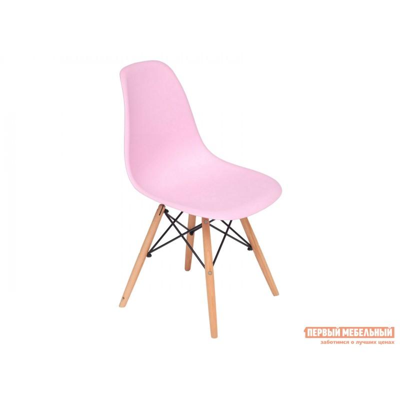 Стул  Eames Wood CC Розовый