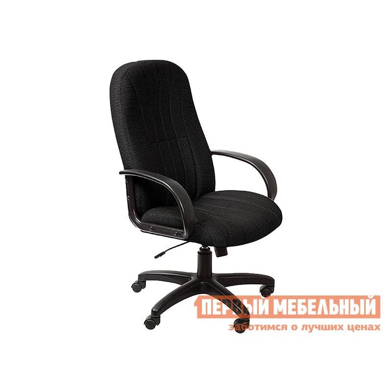 Кресло руководителя  T-898/3С1 3С11BL Черный, ткань