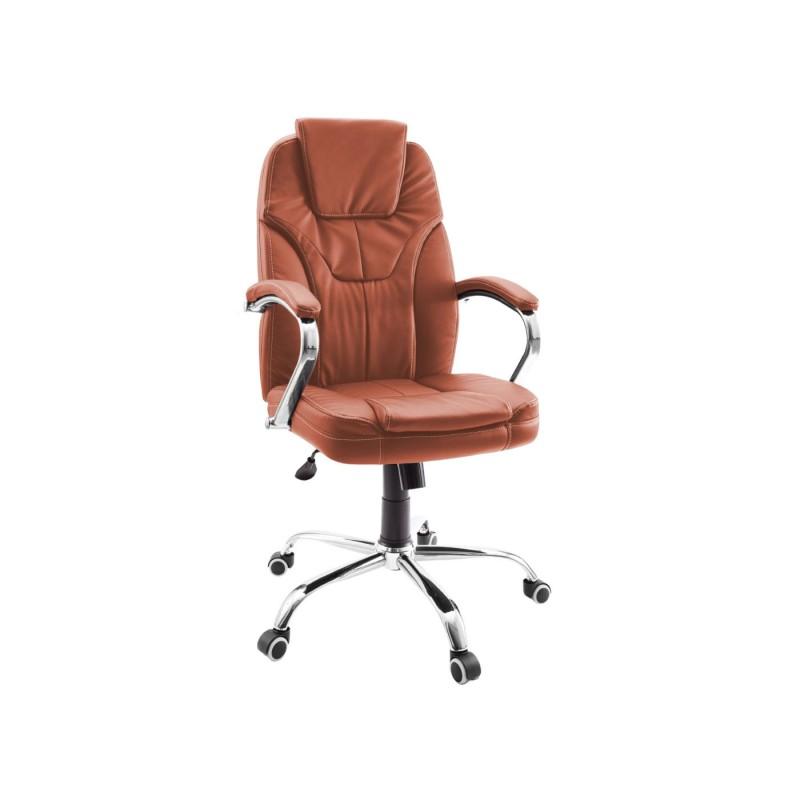 Кресло руководителя  Кресло руководителя Dikline CC60 Паприка, экокожа