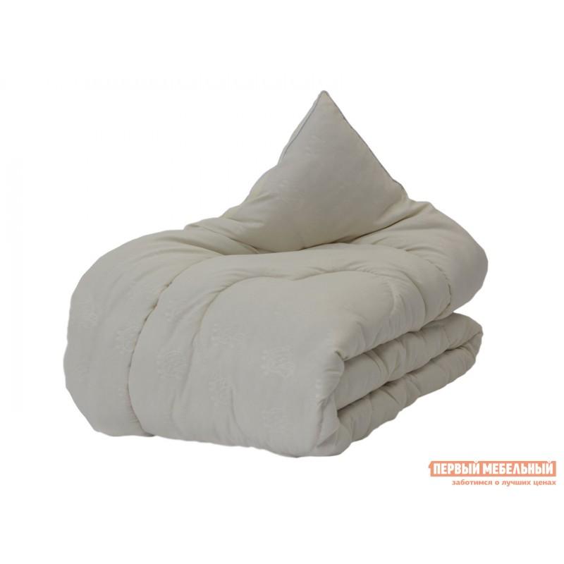 Одеяло  Одеяло микрофибра/шерсть овечья 300 г/м2, всесезонное Белый, 2000 х 2200 мм