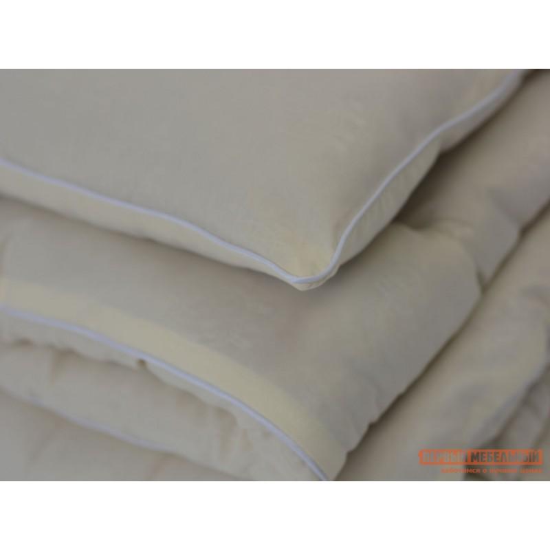 Одеяло  Одеяло микрофибра/шерсть овечья 300 г/м2, всесезонное Белый, 2000 х 2200 мм (фото 2)