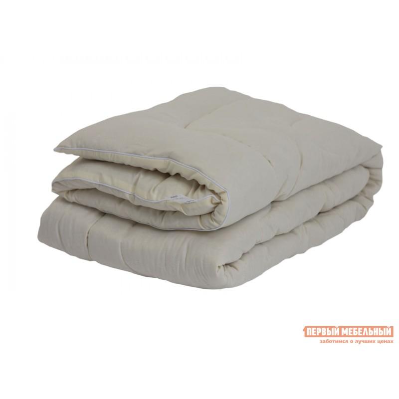 Одеяло  Одеяло микрофибра/шерсть овечья 300 г/м2, всесезонное Белый, 2000 х 2200 мм (фото 4)