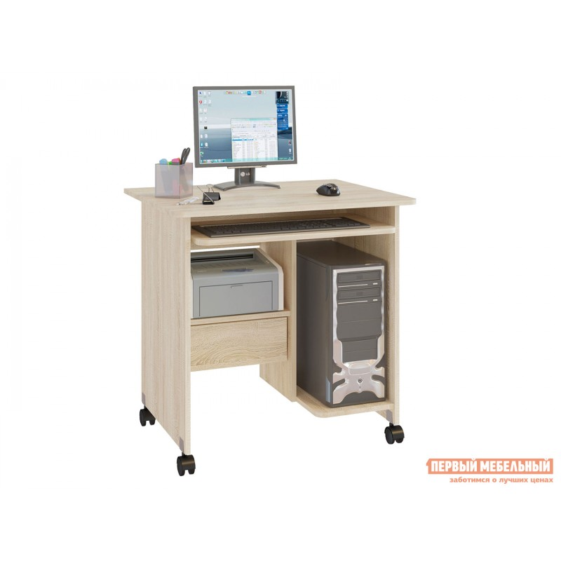 Компьютерный стол  КСТ-10.1 Дуб Сонома