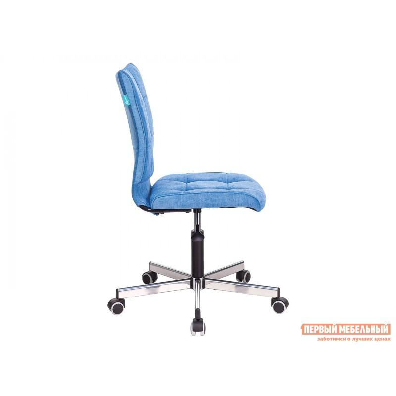 Офисное кресло  CH-330M Голубой, велюр (фото 3)