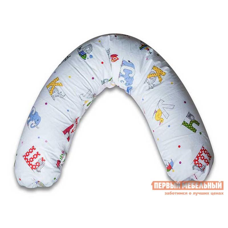 Подушка  Подушка для беременных C-образная Азбука