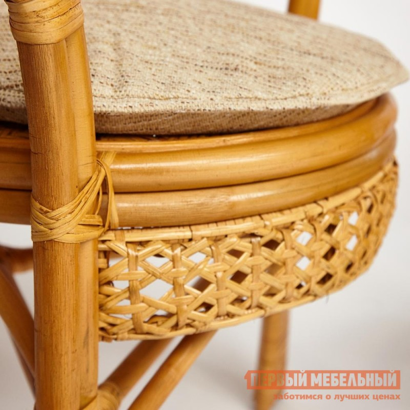 Декоративная подушка  Pelangi Бежевый, рогожка (фото 2)