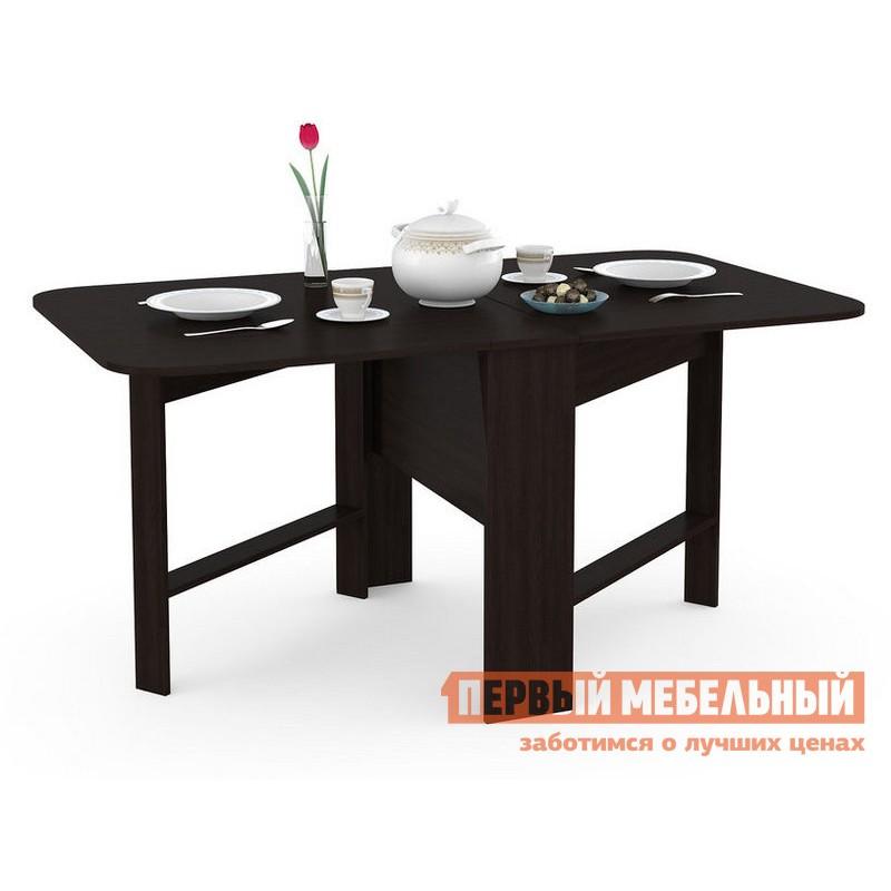 Кухонный стол  Глория 609 Стол-книжка Венге Магия