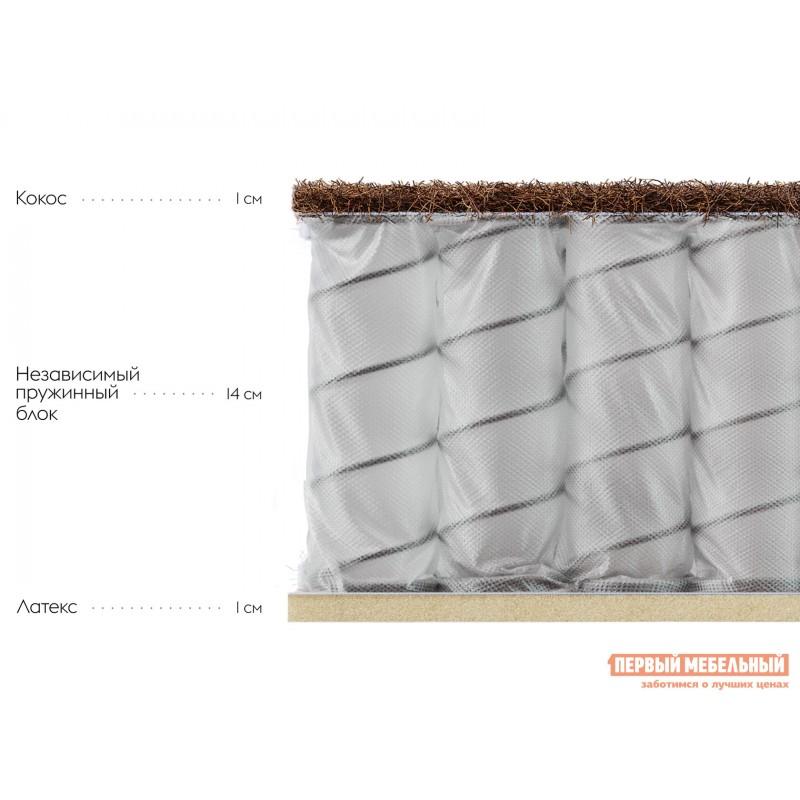 Пружинный матрас  Амьен S 18 80х200 см, Белый (фото 2)