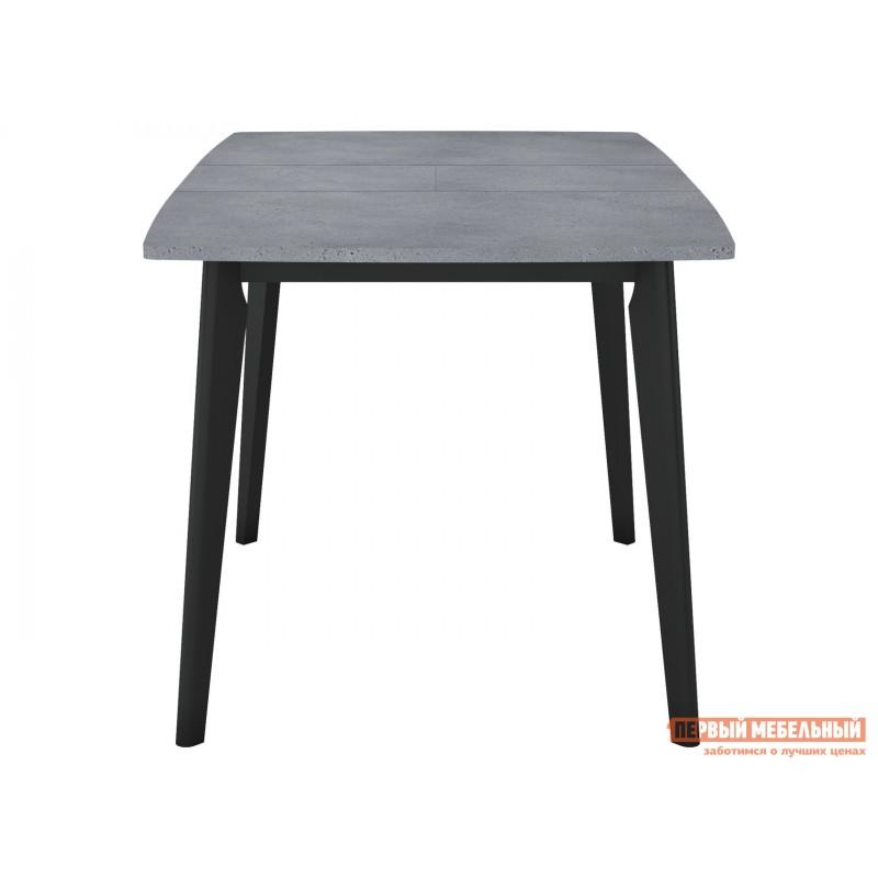 Кухонный стол  Обеденный стол Vesteros 1200 Бетон Портленд / Черный, Малый (фото 3)