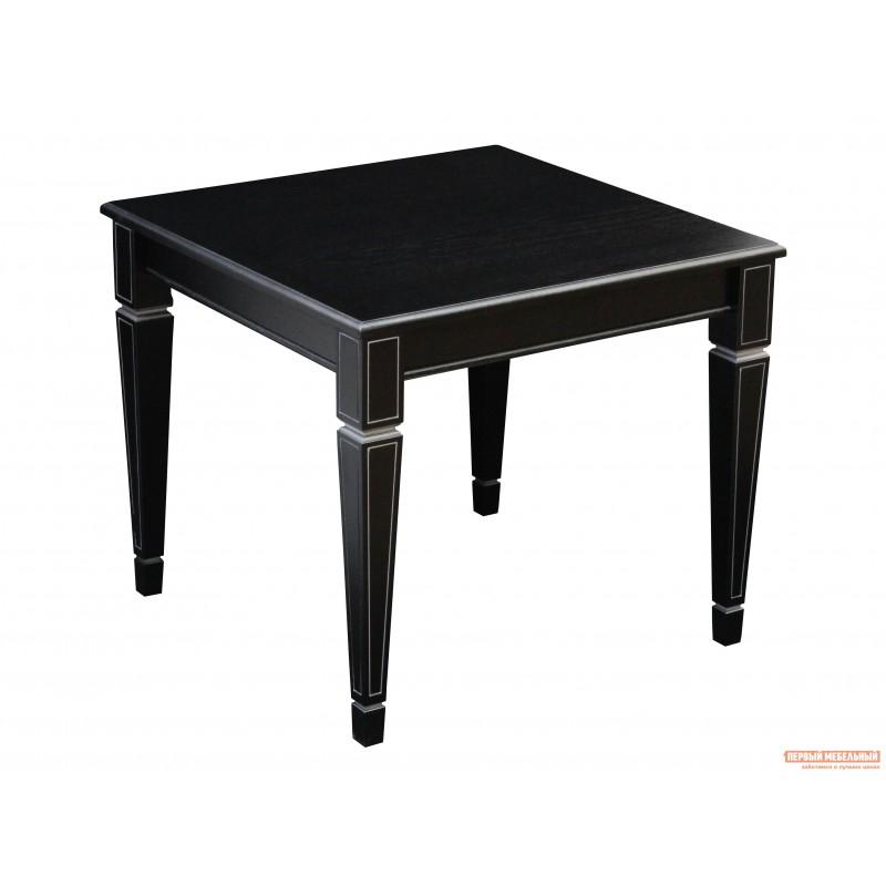 Журнальный столик  Стол журнальный Васко В 82 Венге / Патина серебро