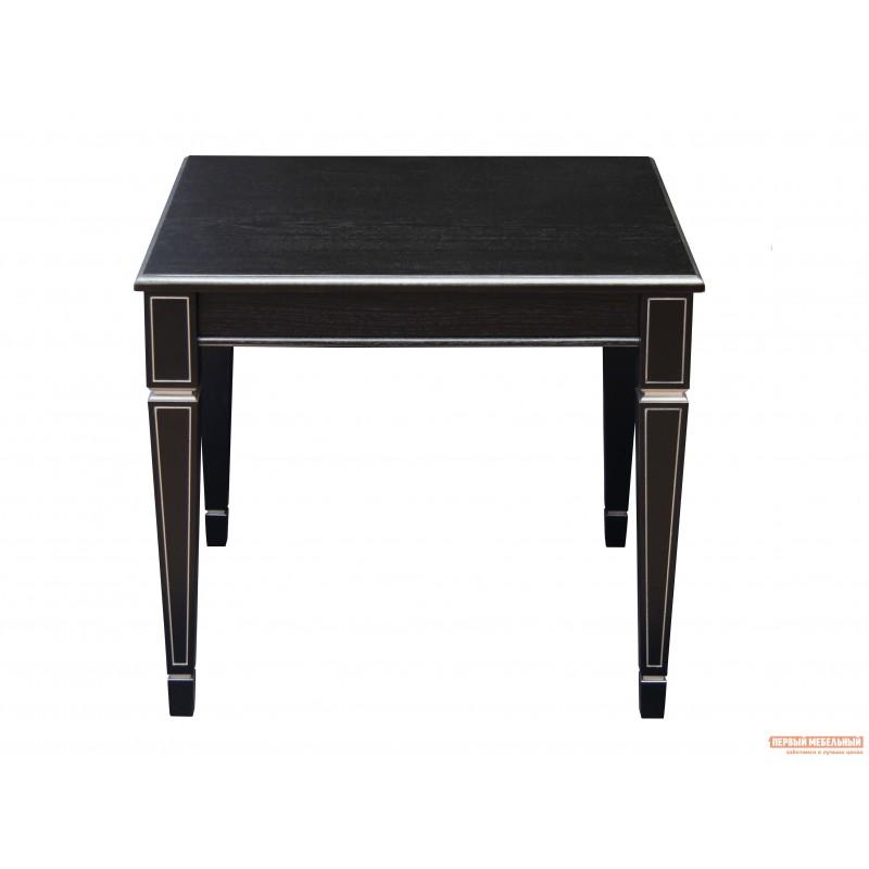 Журнальный столик  Стол журнальный Васко В 82 Венге / Патина серебро (фото 2)