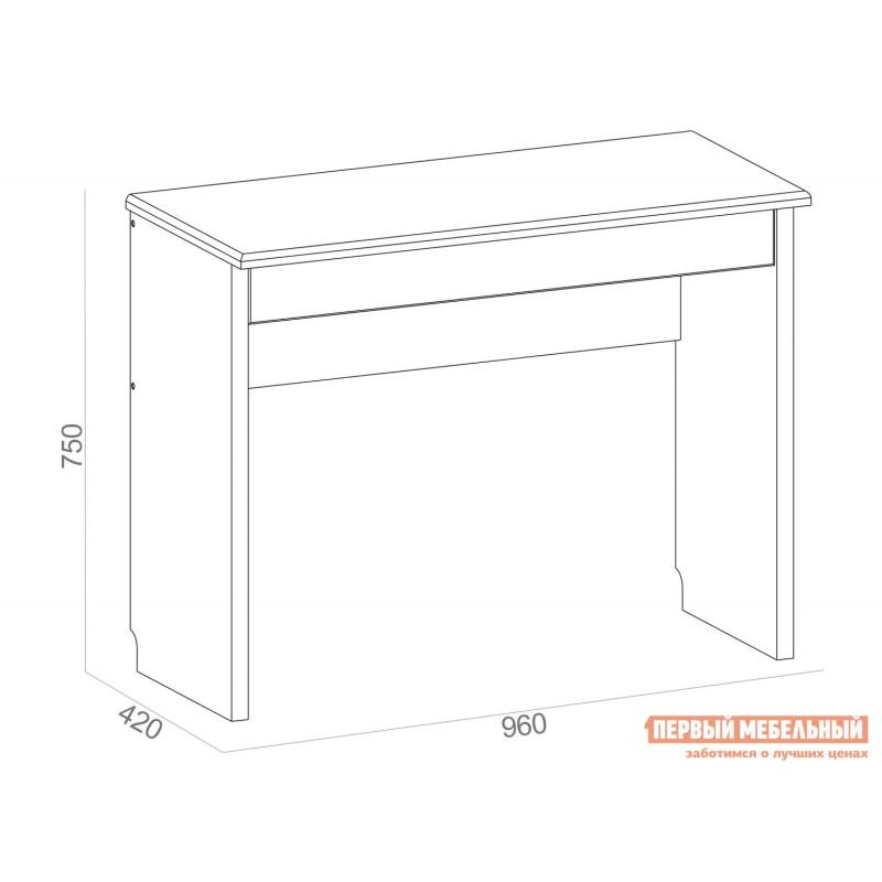 Письменный стол  TIFFANY, 1S Вудлайн кремовый (фото 2)