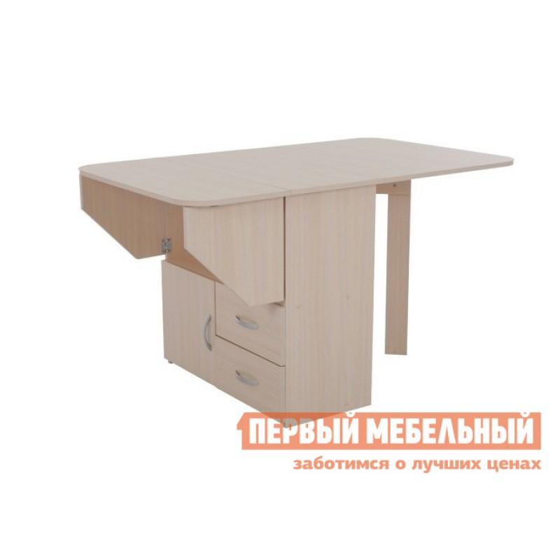 Стол-книжка  Стол-тумба (Мебельсон) Дуб Млечный