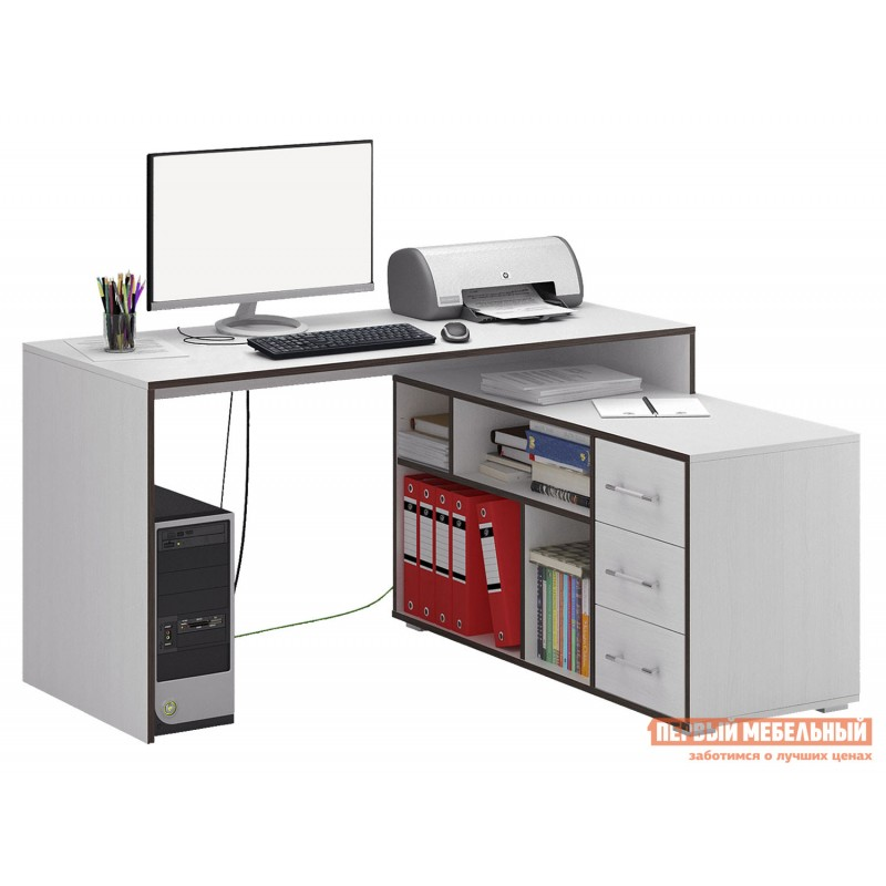 Письменный стол  Краст-2 Белый