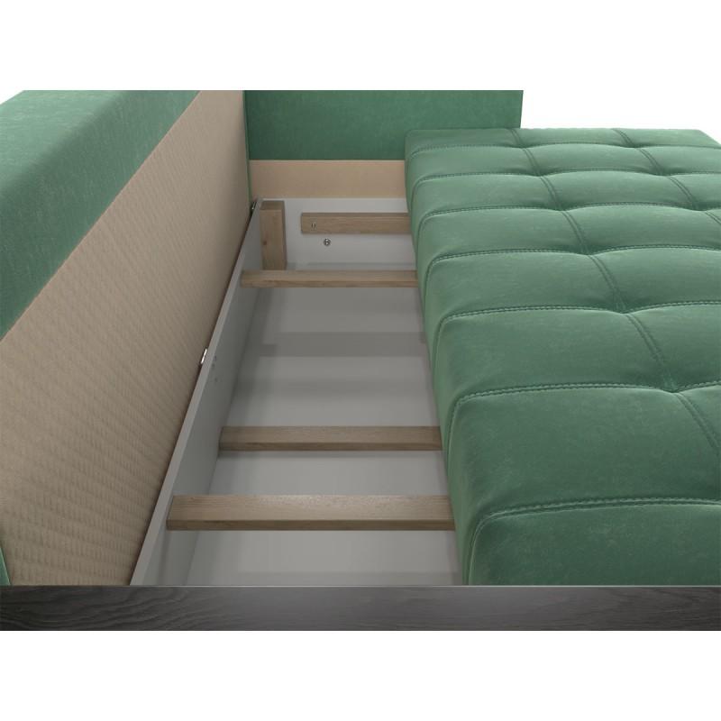 Прямой диван  Диван Виргиния Люкс Авокадо, велюр (фото 5)