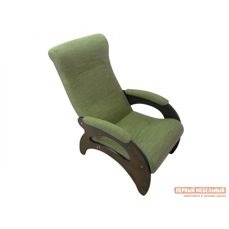 Кресло  Кресло Мария Темный орех / Оливковый, рогожка