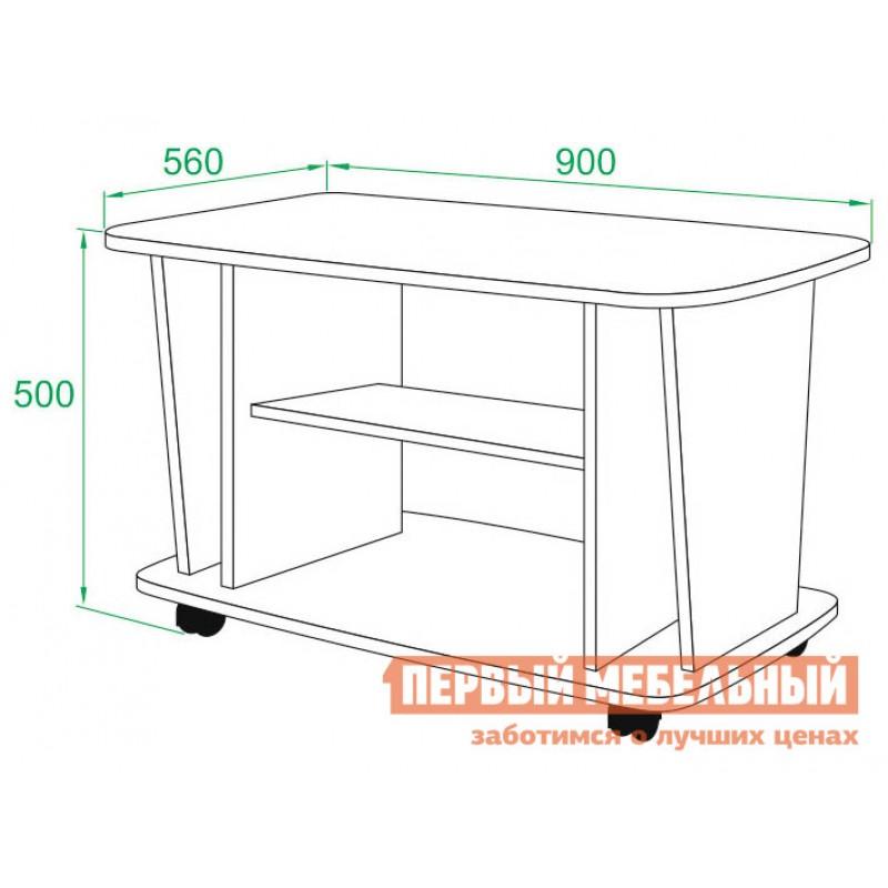 Журнальный столик  СЖ-3 Венге (фото 2)