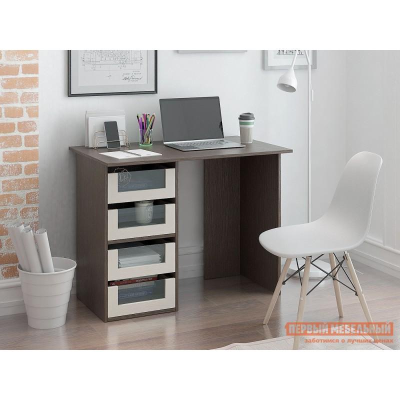 Письменный стол  Прайм-33 Венге / Дуб молочный (фото 2)
