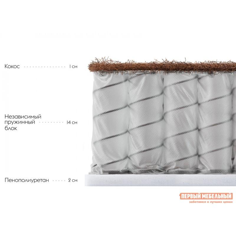 Пружинный матрас  Дофен S 18 80х190 см, Белый (фото 2)